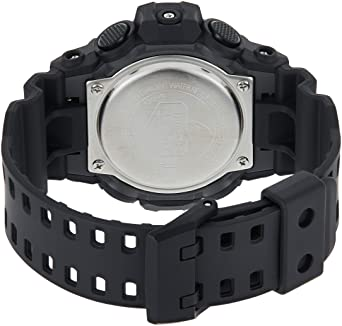 Casio Men's 'G Shock' Quartz Resin Casual Watch - Black